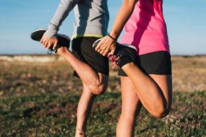 太ももの筋肉と膝との関係